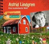 Abenteuer & Wissen: Astrid Lindgren, 1 Audio-CD Cover