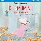 Die Mumins - Herbst im Mumintal, 3 Audio-CDs
