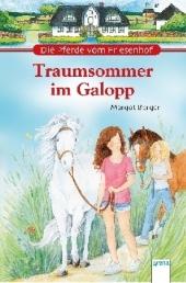 Die Pferde vom Friesenhof - Traumsommer im Galopp Cover