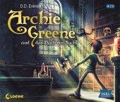 Archie Greene und das Buch der Nacht, 4 Audio-CDs Cover