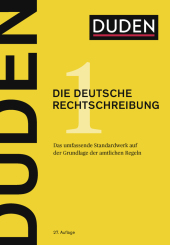 Der Duden Band 1: Die deutsche Rechtschreibung