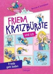 Frieda Kratzbürste und ich - Frieda geht baden Cover