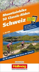 Hallwag Outdoor Map Schweiz, 50 Mountainbike Cl...