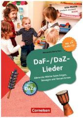 DaF-/DaZ-Lieder, mit Audio-CD