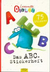 Leseratte ABC Stickerheft