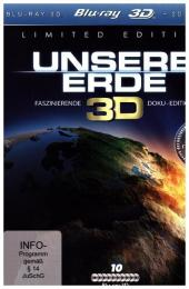 Unsere Erde Real 3D, 10 Blu-ray (Limited Specia...