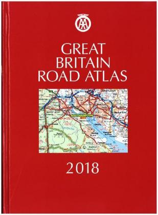 AA Great Britain Road Atlas 2018