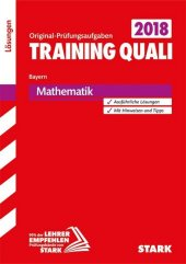 Training Quali Bayern 2018 - Mathematik Lösungen