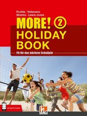 MORE! Holiday Book, m. Audio-CD, Bd.2