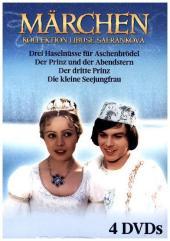 Märchen-Collection Libuse Safránková, 4 DVDs