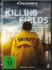 Killing Fields - Mörderjagd in Louisiana, 4 DVDs