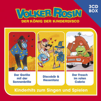 Volker Rosin - Liederbox, 3 Audio-CDs