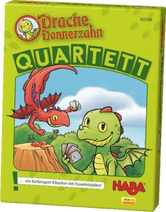 Drache Donnerzahn - Quartett (Kinderspiel)