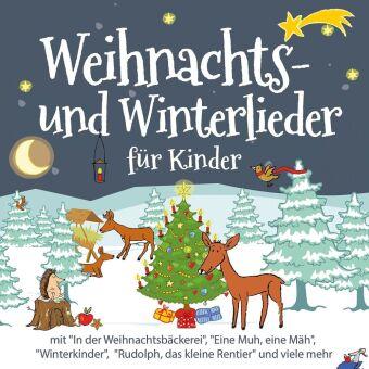 Weihnachts- und Winterlieder für Kinder, 1 Audio-CD