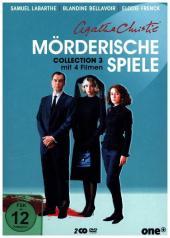 Agatha Christie - Mörderische Spiele Collection, 2 DVD Cover