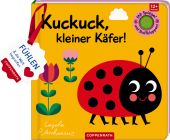 Mein Filz-Fühlbuch: Kuckuck, kleiner Käfer! Cover