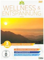 Wellness & Entspannung, 3 DVDs (Special Edition)