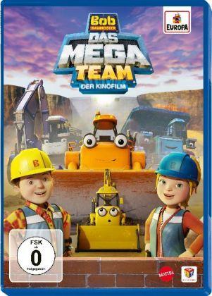 Bob, der Baumeister - Das Mega-Team - Der Kinofilm, 1 DVD
