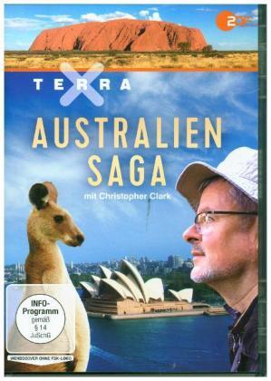 Terra X: Australien-Saga mit Christopher Clark, 1 DVD