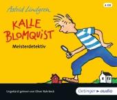 Kalle Blomquist Meisterdetektiv, 4 Audio-CDs