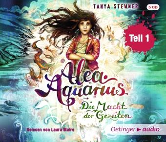 Alea Aquarius. Die Macht der Gezeiten, 4 Audio-CDs