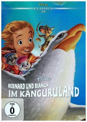 Bernard und Bianca im Känguruland, 1 DVD
