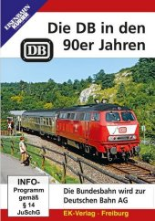 Die DB in den 90er Jahren, 1 DVD-Video