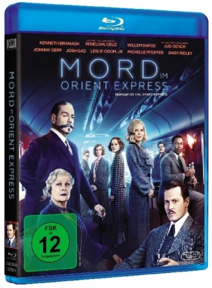 Mord im Orient Express (2017), 1 Blu-ray
