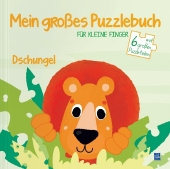 Mein großes Puzzlebuch für kleine Finger - Dschungel