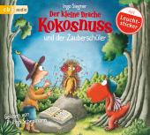 Der kleine Drache Kokosnuss und der Zauberschüler, 1 Audio-CD Cover