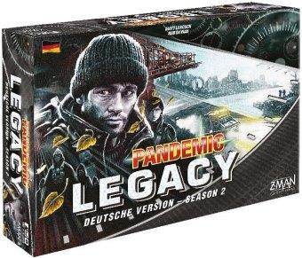 Pandemic Legacy Season 2 Schwarz (Spiel)