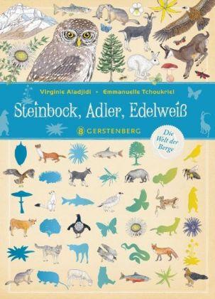 Steinbock, Adler, Edelweiß