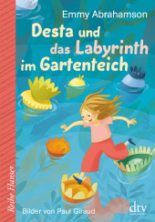 Desta und das Labyrinth im Gartenteich Cover