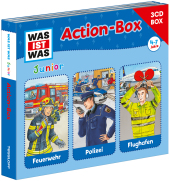 WAS IST WAS Junior Action-Box, 3 Audio-CDs Cover