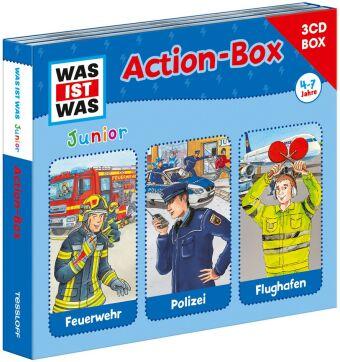 WAS IST WAS Junior Action-Box, 3 Audio-CDs