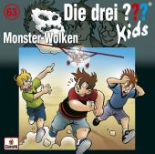 Die drei ??? Kids - Monster-Wolken, 1 Audio-CD