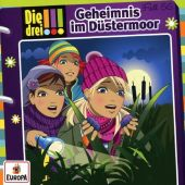 Die drei !!! - Geheimnis im Düstermoor, 1 Audio-CD Cover