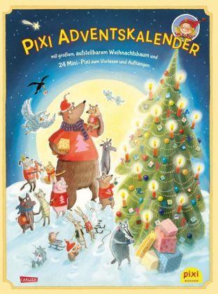 Produkt | Pixi Bücher, Pixi Adventskalender mit Weihnachtsbaum