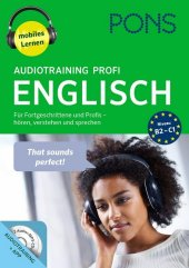 PONS Audiotraining Profi Englisch, 2 Audio-MP3-CDs