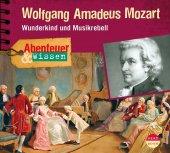 Abenteuer & Wissen: Wolfgang Amadeus Mozart, 1 Audio-CD Cover