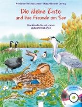 Die kleine Ente und ihre Freunde am See, m. Audio-CD Cover