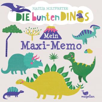 Die bunten Dinos - Mein Maxi-Memo (Kinderspiel)