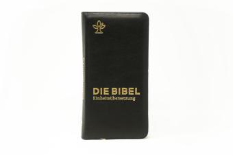 Die Bibel. Einheitsübersetzung, Taschenausgabe nobilis Echtleder mit Reißverschluss