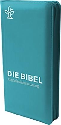 Die Bibel. revidierte Einheitsübersetzung, Taschenausgabe verde mit Reißverschluss