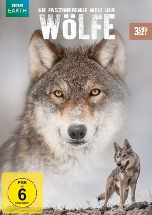 Die faszinierende Welt der Wölfe, 3 DVD