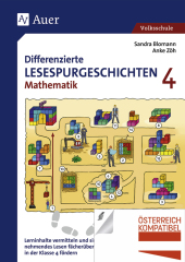 Differenzierte Lesespurgeschichten Mathematik 4