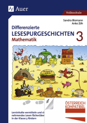 Differenzierte Lesespurgeschichten Mathematik 3