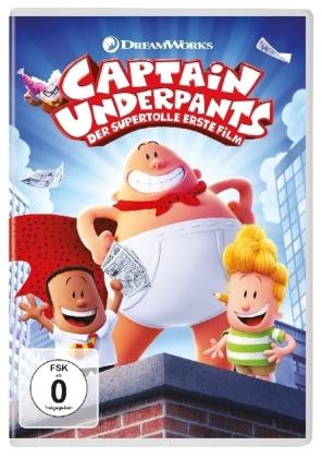 Captain Underpants - Der supertolle erste Film, 1 DVD