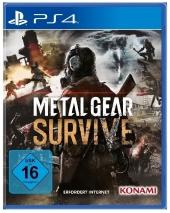 Metal Gear Survive, PS4-Blu-ray Disc