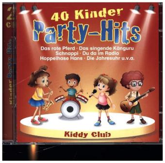 40 Kinder Party-Hits, 2 Audio-CDs